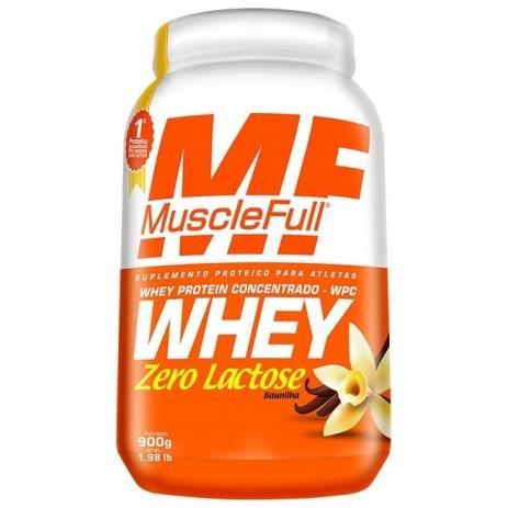 Whey Protein concentrado zero lactose?
