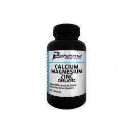 Calcium Magnezium Zinc Chelated (100 Tabs)