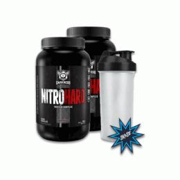 Nitro Hard (907g) 2 unidades + Brinde