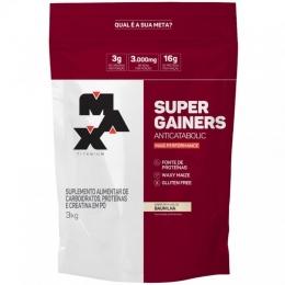 Super Gainers (3kg) - BAUNILHA