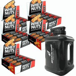 Whey Nuts (360g) caixa com 12 unidades - 5 unidades - galão